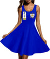 SIGMA GAMMA RHO Racerback Skater Dress 17820201