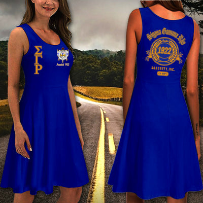 SIGMA GAMMA RHO Racerback Skater Dress