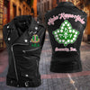Alpha Kappa Alpha Leather Punk Zipper Sleeveless Vests Jacket 31720203
