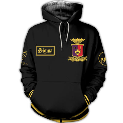 3D ALL OVER SIGMA PHI EPSILON HOODIE 31720192