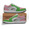 Alpha Kappa Alpha Low Sneakers