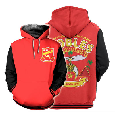 3D ALL OVER SHRINERS HOODIE 3720192