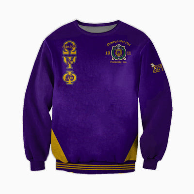 3D ALL OVER OMEGA PSI PHI CLOTHES 20062020