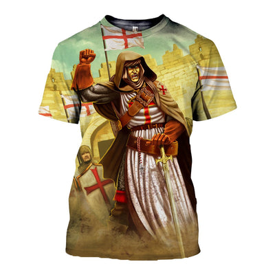 3D ALL OVER KINIGHTS TEMPLAR CLOTHES 15320193