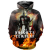 3D ALL OVER KINIGHTS TEMPLAR CLOTHES 20320191