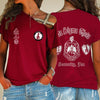 Delta Sigma Theta One Shoulder Shirt 2332020