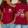 Delta Sigma Theta One Shoulder Shirt 24320202