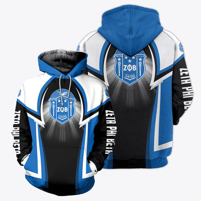 3D ALL OVER ZETA PHI BETA HOODIE 1732020
