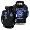 3D ALL OVER ZETA PHI BETA HOODIE 23720191