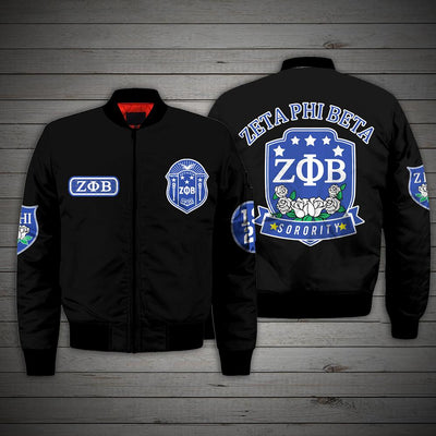 3D ALL OVER ZETA PHI BETA HOODIE 24720192