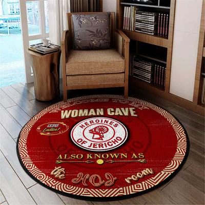 Heroines Of Jericho Round Carpet 030720201