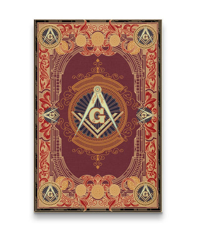 Freemason Canvas - Portrait