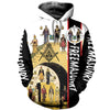 3D ALL OVER FREEMASONRY HOODIE 5282019