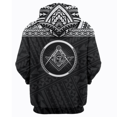 3D ALL OVER FREEMASONRY HOODIE 3620191
