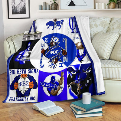 Fleece Blanket phi beta singma