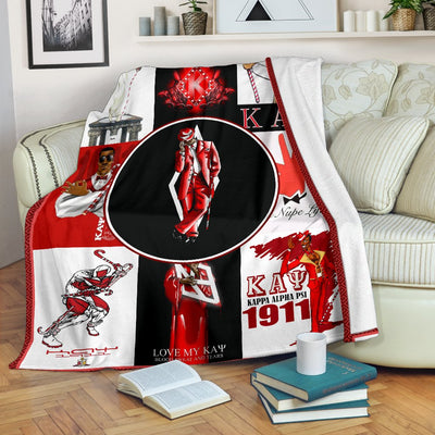 KAPPA ALPHA PSI fleece blanket