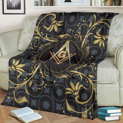 Freemason Fleece Blanket