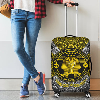 Alpha Phi Alpha Luggage Covers