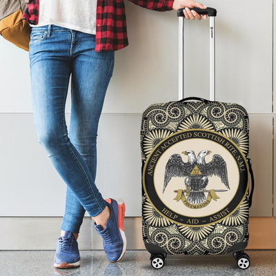 scottish rite luggage covers