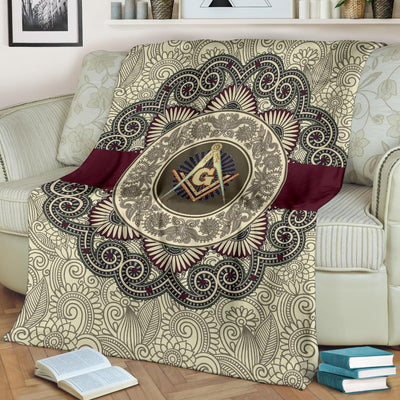 FLEECE BLANKET FREEMASON