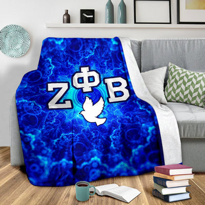 Fleece Blanket Zeta Phi Beta