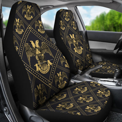 SCOTTISH RITE CAR SEAT COVERS 1