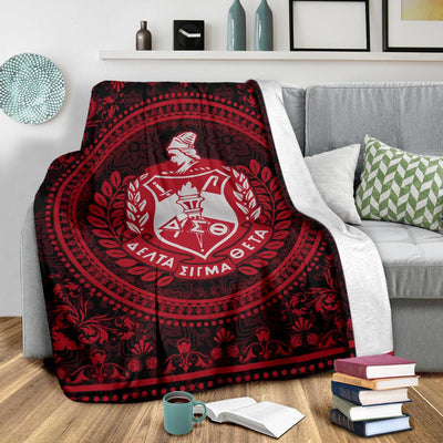 DELTA SIGMA THETA FLEECE BLANKET