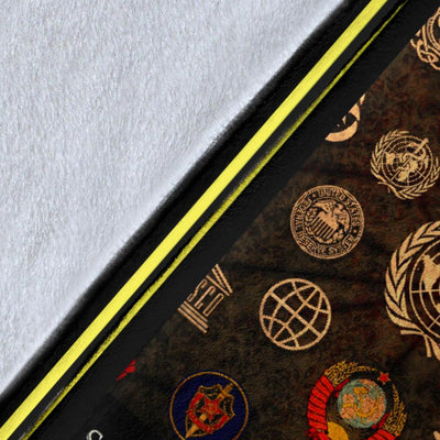 freemason blanket fleece