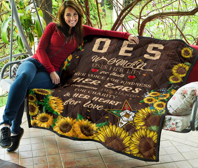 OES WOMAN PREMIUM QUILT