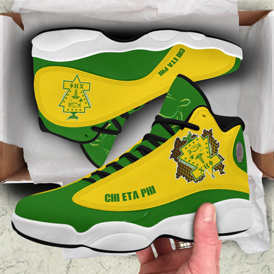 Chi Eta Phi High Top Sneakers
