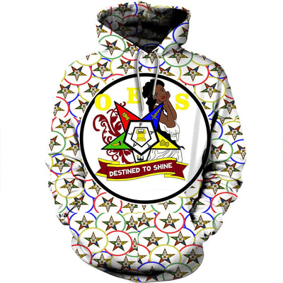 3D ALL OVER OES HOODIE T SHIRT 2542019