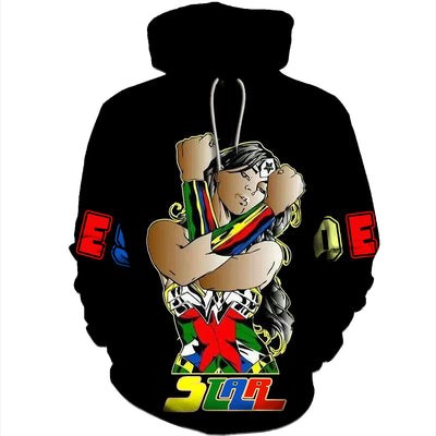 3D ALL OVER OES HOODIE CLOTHES 2542019