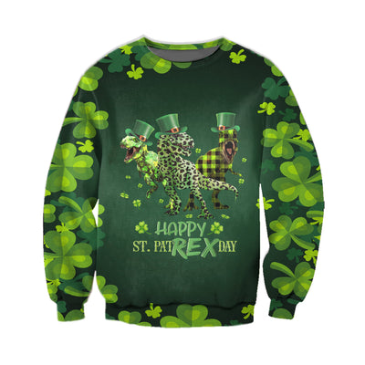 HAPPY ST PATRICK'S DAY 3D ALL OVER PRINTED HOODIE 2822020