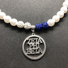 ZETA PHI BETA pendant necklace