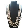 order of the eastern star Jewelry OES Pearl Necklace