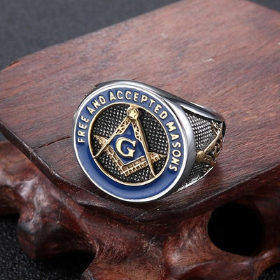 Titanium Masonic Ring