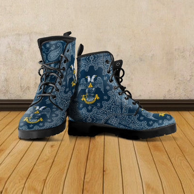 Scottish Rite Leather Boots