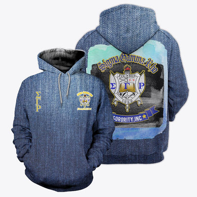 3D ALL OVER SIGMA GAMMA RHO CAMO HOODIE T SHIRT 10220202
