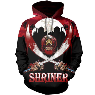 3D ALL OVER SHRINERS HOODIE 29520193