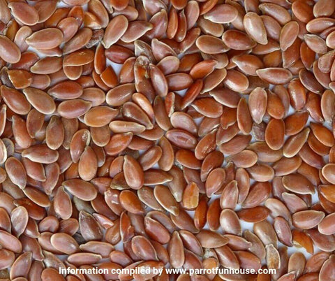 Linseeds Flax seeds safe for birds