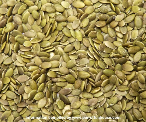Pumpkin seeds safe for birds