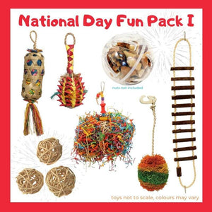 Limited Edition Bird Toy Fun Pack I