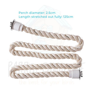 Flexible Sisal Rope Perch (2 sizes)