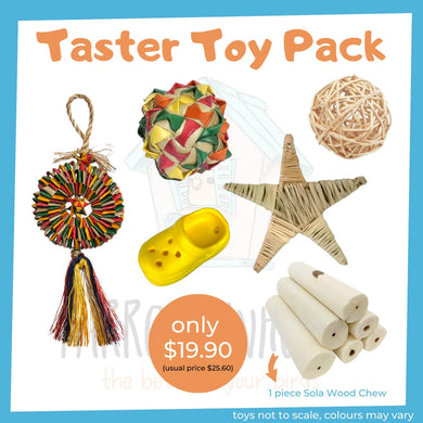 (NEW) Taster Toy Pack