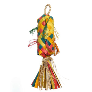 Woven Wonders Small Pinata 3x3x13cm Parrot Funhouse