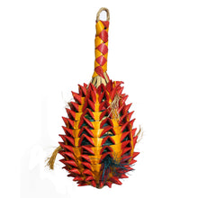 Load image into Gallery viewer, Woven Wonders Large Foraging Pineapple bird toy Parrot Funhouse