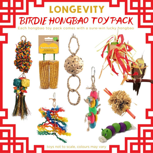Longevity Birdie Hongbao Toy Pack