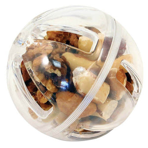 Buffet Party Ball 9cm diameter filled with nuts Parrot Funhouse