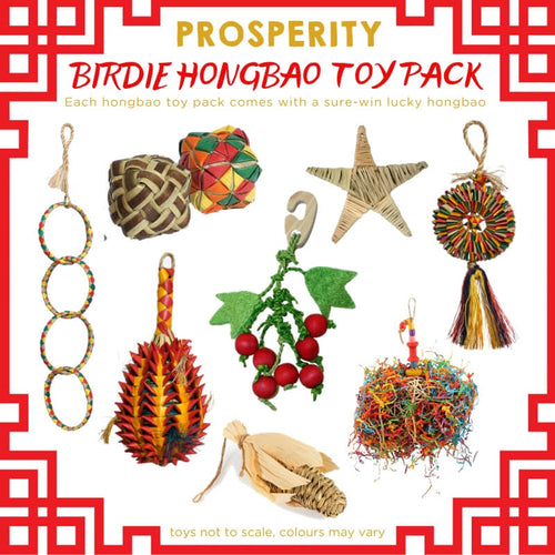 Prosperity Birdie Hongbao Toy Pack