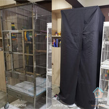 Load image into Gallery viewer, Made to measure bird cage sleeping cover fit Parrot Funhouse